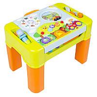 """Музыкальный, игровой, развивающий столик VTech """"Изучаем и строем"""" , фото 1"""
