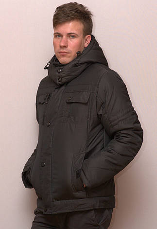 Куртка мужская зимняя BLACK CYCLONE, фото 2