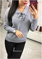 Женский повседневный свитер