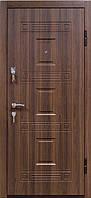 """Входная металлическая дверь """"Орех белоцерковский"""", Престиж 802"""