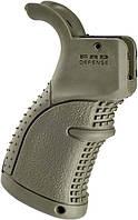 Рукоятка пистолетная FAB Defense AGR-43 прорезиненная для M4/M16/AR15 оливковый