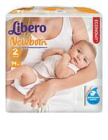 Подгузник детский Либеро Ньюборн 2 (3-6кг) (94)