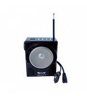 Радиоприемник с цифровым тюнером RX 903: AM/ SW1-7 10/FM.TV, SD/USB, 11,8х14,7 см, шнурок