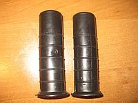 Ручки пластиковые (грипсы) 2 шт. для тележек, тачек, велосипедов и мототехники.