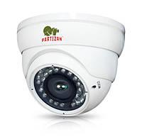 Камера AHD Partizan CDM-VF37H-IR FullHD 3.2, White, 1/2.8' Sony Exmor, 1080p / 25 fps, f=2.8-12 mm, 0.001 Lux, ИК подсветка до 20 м, IP55, 600 г
