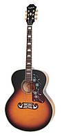 Электроакустическая гитара EPIPHONE EJ-200CE VS/GH