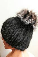 Оригинальная кроличья шапка