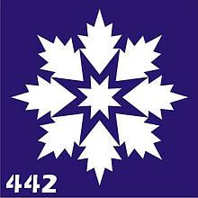 Трафарет для временного тату №442