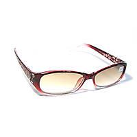 Очки для коррекции зрения с тонированной линзой