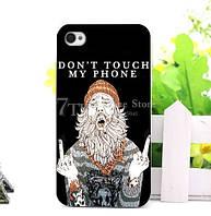 Силиконовый чехол панель накладка с принтом для Iphone 7 Plus Дед