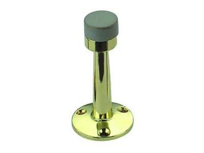 Ограничитель двери FZB 01-01 выс. бел. резинка 75 мм NIS (SN)