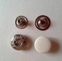 Кнопка АЛЬФА - 15 мм эмаль № 306 молоко