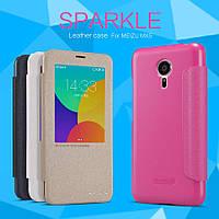 Чехол (книжка) Nillkin Sparkle Series для Meizu MX5