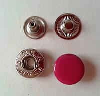 Кнопка АЛЬФА - 15 мм эмаль № 146 малина