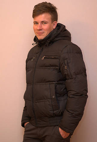 Куртка мужская зимняя очень теплая BRAGGART, фото 2
