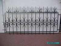 Забор кованый арт.1