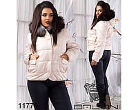 Куртка с мехом - 11779