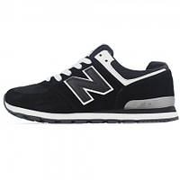 Женские кроссовки New Balance 574 Black (черный)