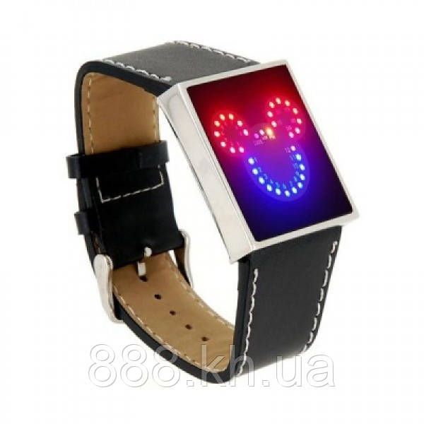 Led часы Mickey Mouse