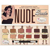 Палетка теней The Balm Story Nude Dude 12 цветов