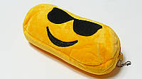 Мягкий пенал - сумочка Смайлики, Emoji в очках