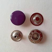 Кнопка АЛЬФА - 15 мм эмаль № 175 фиолетовая