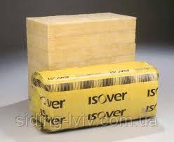 Мінеральна вата Ізовер Isover 50 мм Скатна покрівля плитова