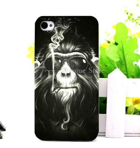 Чехлы с картинками (силикон) для Iphone SE Обезьяна