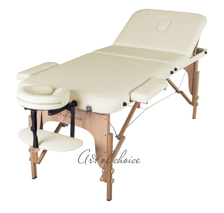 Трисекційний дерев'яний складаний стіл DEN Comfort (Art of Choice)