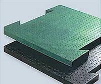 Цельнолитая резиновая плитка  700мм х 700мм х 20мм