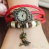 Винтажные женские наручные часы Shambala red (красный), фото 2