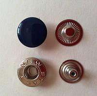 Кнопка АЛЬФА - 15 мм эмаль № 569 темно-синяя