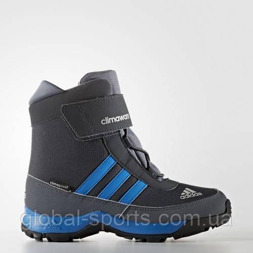 0097cf08 Детские зимние сапоги adidas CLIMAWARM ADISNOW K (АРТИКУЛ:AQ4129) - магазин  Global Sport