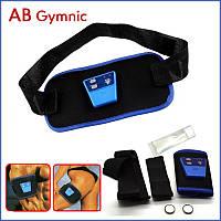 Пояс массажер ABGYMNIC, миостимулятор для похудения, пояс для тренировки мышц