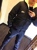 "Мужской зимний костюм "" The North Face ""  1061 / черный"