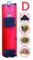 Котёл дровяной длительного горения со стабилизатором тяги SWaG 10Ds мощностью 10 кВт