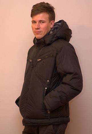 Куртка мужская зимняя на холлофайбере F50, фото 2