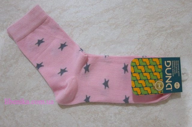 """Детские демисезонные носочки ТМ """"Дюна"""" с рисунком (звёзды). Размеры:18-20, 20-22, 22-24"""