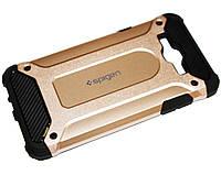 Накладка-бампер противоударный Spigen for Samsung Galaxy J7/J700, Gold