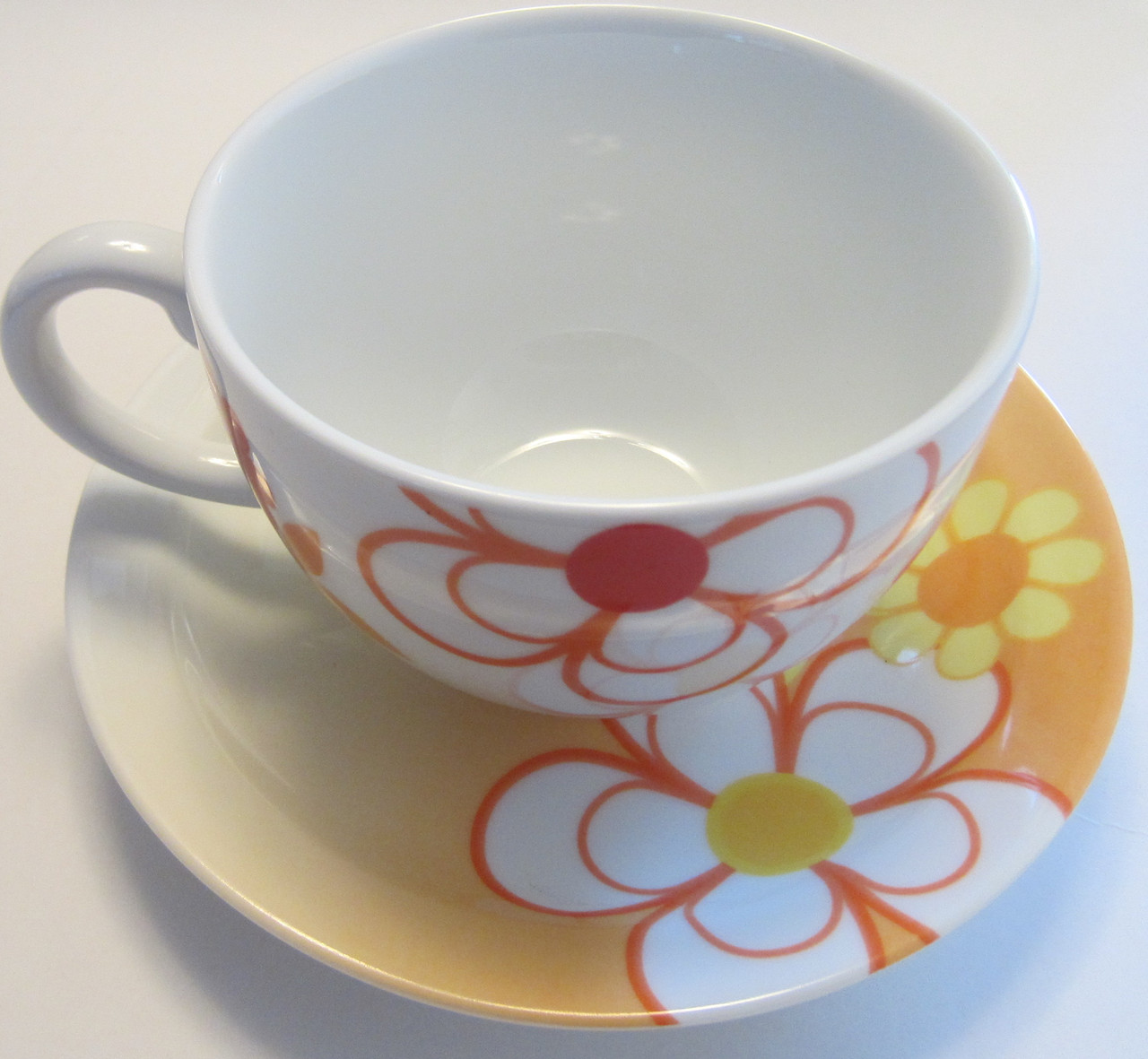 Набор чашек с блюдцами для завтрака Allure Оазис