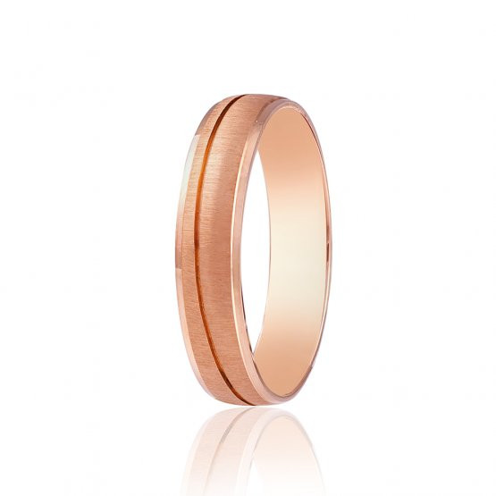 Золотые обручальные кольца матовые