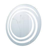 Круглое зеркало с подсветкой 75х75 в ванную комнату
