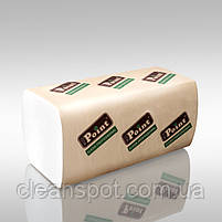 Полотенца бумажные V Standart белые 2-шар 160шт Eco Point, фото 3