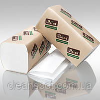 Полотенца бумажные V Standart белые 2-шар 160шт Eco Point, фото 2