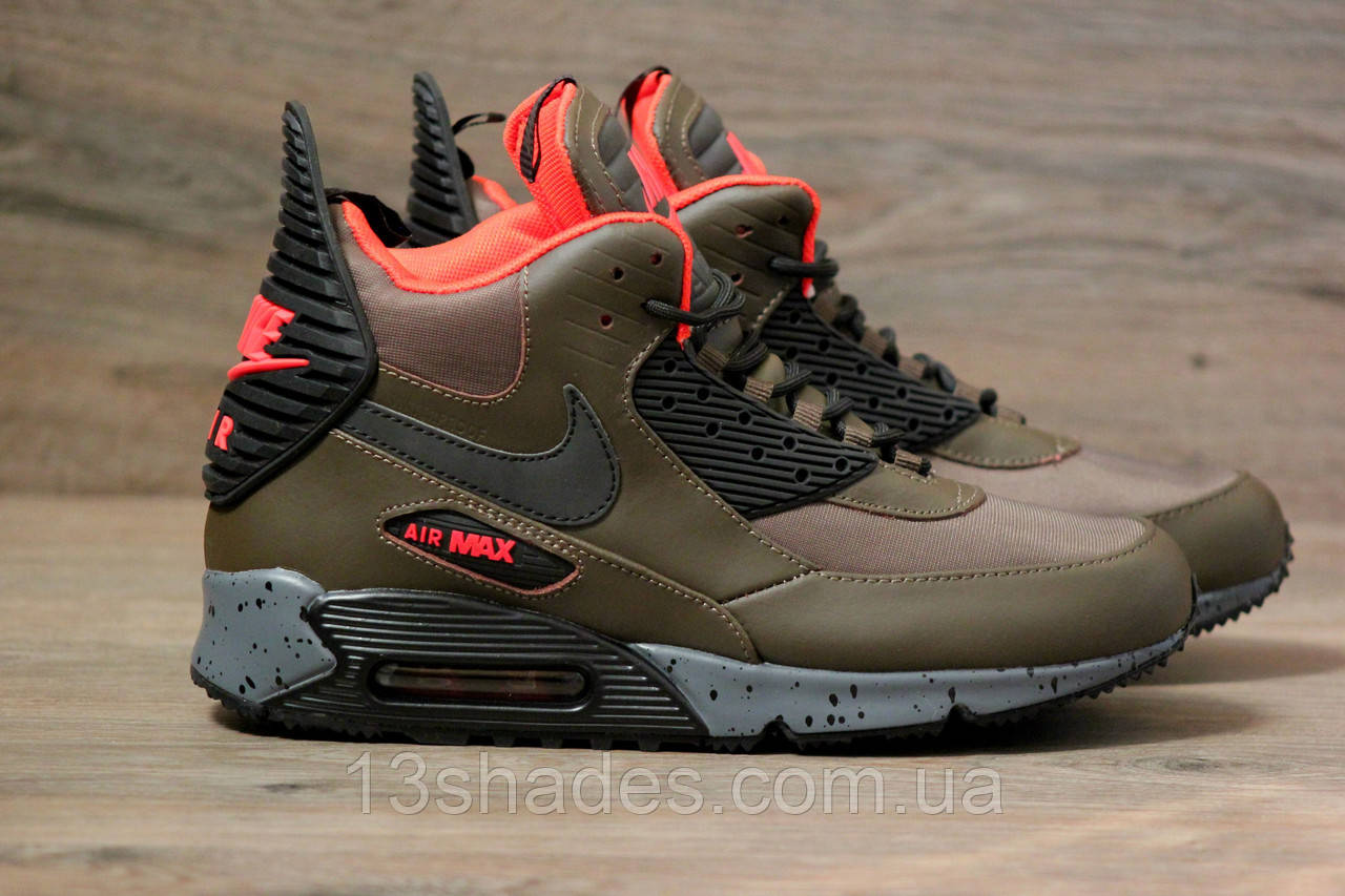 abc5a65280ee Кроссовки мужские зимние Nike Air Max 90 Winter SneakerBoot Winter