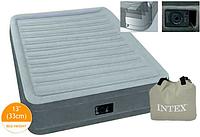 Велюр кровать 67766  с встроенным электрическим насосом