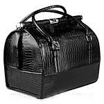 Кейс профессиональный со съемным органайзером, черный лаковый, фото 5