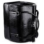 Кейс профессиональный со съемным органайзером, черный лаковый, фото 8