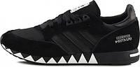 Тренировочные мужские Кроссовки чёрные Neighborhood x Adidas Boston Super Black