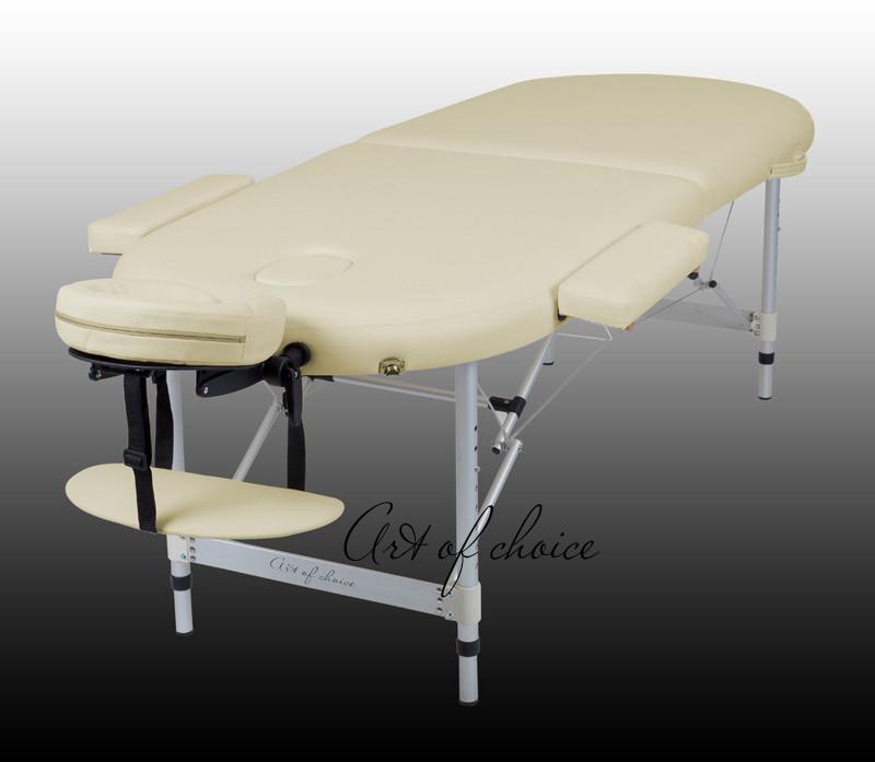 Двухсекционный алюминиевый складной стол TES (Art of Choice)
